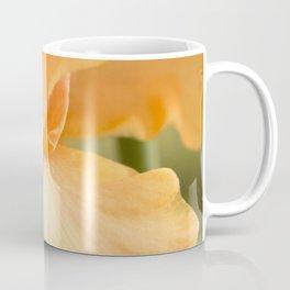 Bearded Iris Orange Harvest Coffee Mug