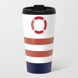 Life Ring,Nautical Travel Mug
