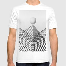 Architectarium: Equilibrium Mens Fitted Tee White SMALL