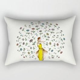 Paris Summer | The Flower Girl Rectangular Pillow