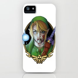 Zombie Link iPhone Case