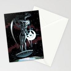 Lady Surfer Stationery Cards