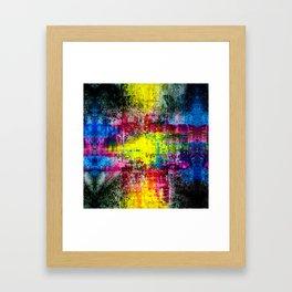 InkCore Seven Framed Art Print