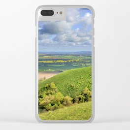 The Whitehorse. Clear iPhone Case