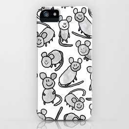 Mouse colony iPhone Case