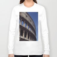 rome Long Sleeve T-shirts featuring Rome by  Eggplant
