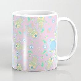 Pink Hamsa Toss Coffee Mug