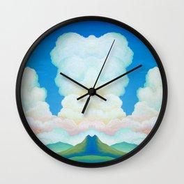 Clover Mountain Pass Wall Clock