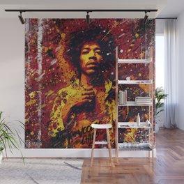 Jimi Hendrix | Pop Art | Old School Collection Wall Mural