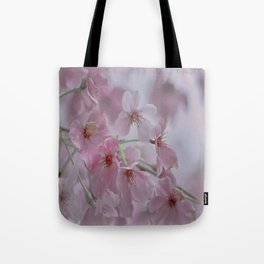 Delicate Pink Blossoms Tote Bag