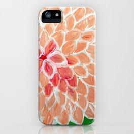 Sweet Dahlia iPhone Case