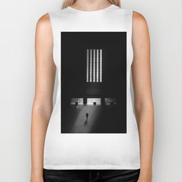 black white photo Biker Tank
