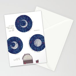 Charting the Nightsky Stationery Cards