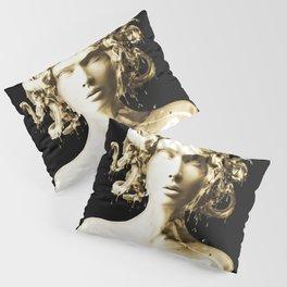 Gold Medusa Pillow Sham