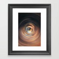 Copper Sphere Framed Art Print