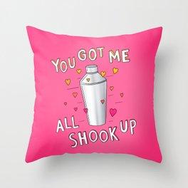You Got Me All Shook Up Throw Pillow