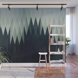 Diamond Forest Wall Mural