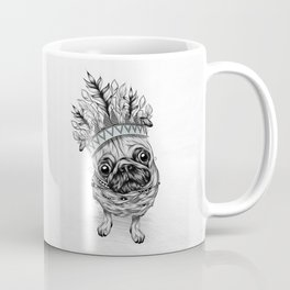 Indian Pug Coffee Mug