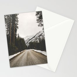 Great Mountain Roads - Nature Photography Stationery Cards