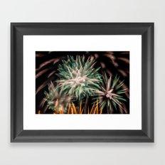 Fireworks - Philippines 16 Framed Art Print