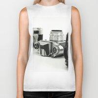 cameras Biker Tanks featuring cameras by Falko Follert Art-FF77