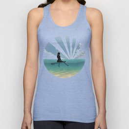 View from a Surfboard Unisex Tank Top