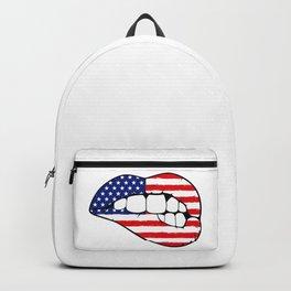 American lips Backpack