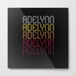 Adelynn Name Gift Personalized First Name Metal Print