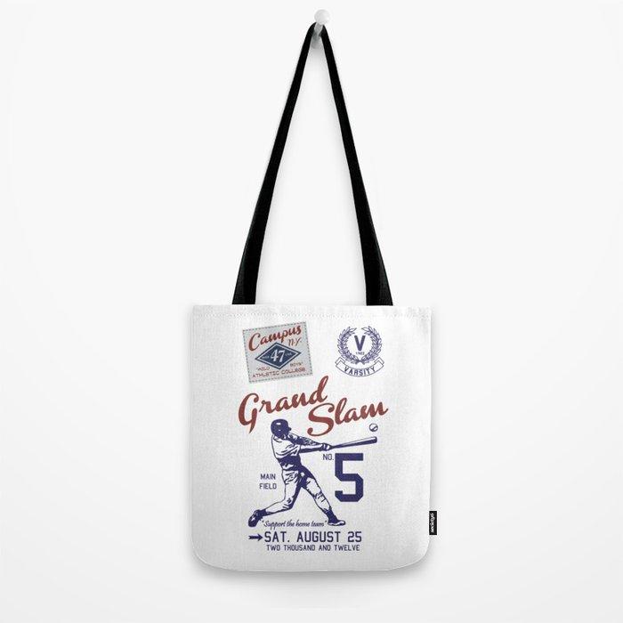 Baseball Grand Slam Vintage Design. Tote Bag