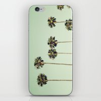 palm trees iPhone & iPod Skins featuring Palm Trees  by Laura Ruth