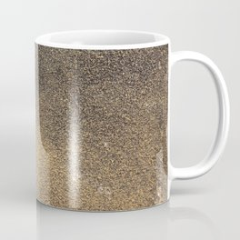 Black Yellow Sandpaper Texture Coffee Mug