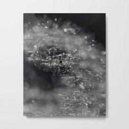 silver burst Metal Print