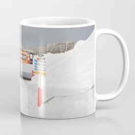 Entrance to the Snowpark Coffee Mug