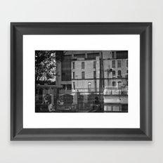 don't walk away Framed Art Print