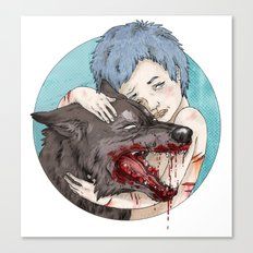 Dog-Eared Canvas Print