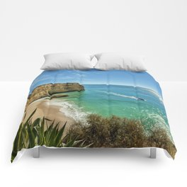 An Algarve cove Comforters