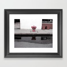 Puddle Framed Art Print