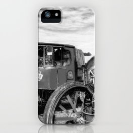 Steam Lorry And Traction Engine iPhone Case