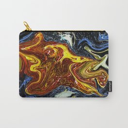 Abstract Paleolithic Bison Carry-All Pouch
