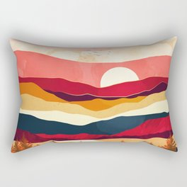 Scarlet Spring Rectangular Pillow