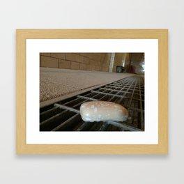 Don't drop the soap Framed Art Print