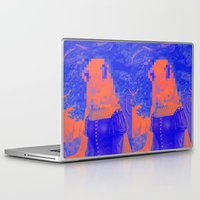 furry Laptop & iPad Skins featuring Furry Streets by Tyler Spangler