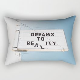Dreams to Reality Rectangular Pillow