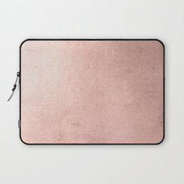 Blush Rose Gold Ombre  Laptop Sleeve