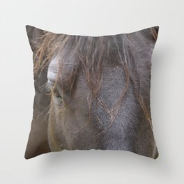 Hello, Beautiful Throw Pillow
