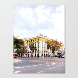 City Block, Seville Canvas Print