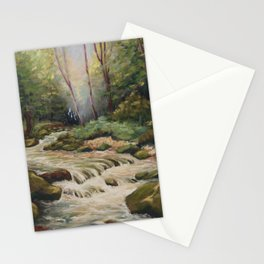 In the shade of the undergrowth Stationery Cards