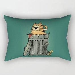Stray cat Rectangular Pillow