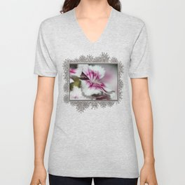 Sweet William from the Super Duplex Bluepoint Mix Unisex V-Neck