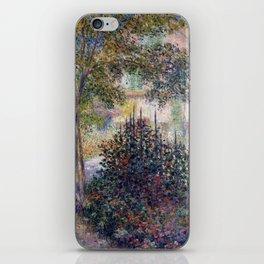 Claude Monet Camille Monet in the Garden at Argenteuil iPhone Skin
